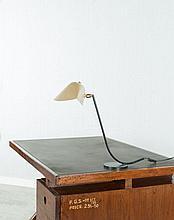 Serge MOUILLE (1922 - 1988) Rare version de la lampe à poser