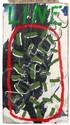 Mimmo ROTELLA (1918 - 2006) LINE, 1990 Acrylique sur arrachage d'affiches
