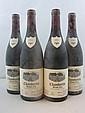 4 bouteilles CHAMBERTIN 2001 Grand Cru