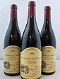 3 bouteilles CHAMBOLLE MUSIGNY 1999 Vieilles Vignes