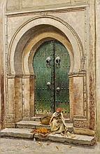John Lewis SHONBORN (1852 - 1931) LE MARCHAND D'ORANGES