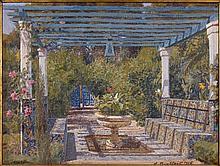 Alexandre ROUBTZOFF (1884-1949) MARSA Huile sur toile marouflée sur carton