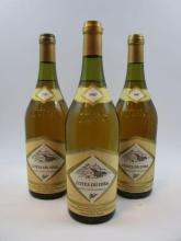 8 bouteilles COTES DU JURA 1987 Fruitière Vinicole des producteurs de Château Chalon à Voiteur (blanc) (cave 15)