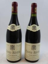 2 bouteilles COTE ROTIE 1995 Côte Blonde