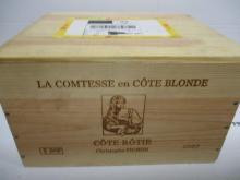 6 bouteilles COTE ROTIE 2007 La Comtesse en Côte Blonde