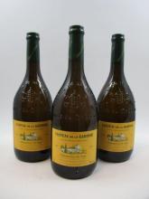 5 bouteilles  CHATEAUNEUF DU PAPE 2009 (blanc) Château de la Gardine. Cuvée des Générations Marie-Léoncie  (85% roussanne vieilles v...