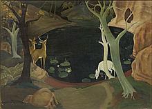 Jacques NAM (1881-1974) PANNEAU DECORATIF