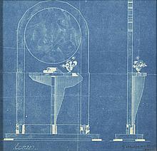 Jean-Charles MOREUX & Paul VERA (1889-1956) - (1882-1957) PLAN