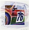 Michel LECOMTE (1935- 2011)  Art Cars BMW M1 Andy Warhol