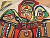 Talal CHAIBIA (Chtouka, 1929 - Casablanca, 2004) Le Voyageur