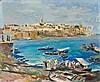 Edy LEGRAND (Bordeaux,1892 - Bonnieux,1970) Rabat, vue des Oudayas