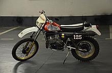 1981 Husqvarna 250 WR - Ex Coluche  No reserve