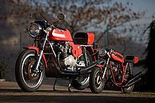 1976 MV Agusta 750 S America et mini-bike