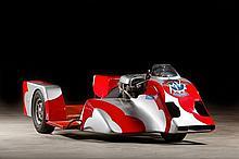 C.1976 MV 750 side-car course