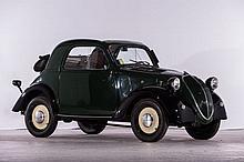 1939 Fiat 500 A Topolino coupé découvrable  No reserve