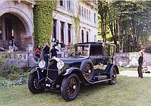 1930 Delaunay-Belleville TL6 coupé-chauffeur Kellner  No reserve