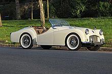 1957 Triumph TR3  No reserve