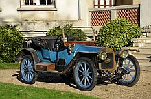 1908 Grégoire 70.4 phaéton Alin et Liautard  No reserve
