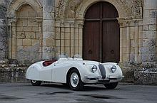 1953 Jaguar XK120 roadster  No reserve