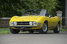 1971 Fiat Dino 2400 Spider avec hard-top