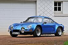 1971 Renault Alpine A110 Gpe IV Compétition Client