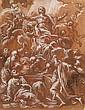 Giuseppe Passeri Rome, 1654 - 1714 L'Assomption de la Vierge Plume et encre brune sur trait de sanguine, lavis de sanguine et lavis...