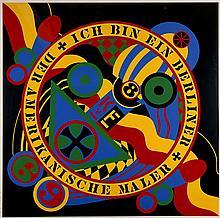 Robert INDIANA (Né en 1928) BERLIN SERIE - HARTLEY ELEGIES, 1990