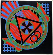 Robert INDIANA (Né en 1928) BERLIN SERIE - HARTLEY ELEGIES, 1991