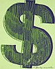 Andy WARHOL (1928-1987) DOLLAR SIGN - 1982 Sérigraphie en couleurs