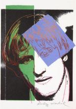 Andy WARHOL (1928-1987) GERARD DEPARDIEU - 1986