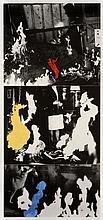 John BALDESSARI (Né en 1931) HELMSMAN (With Various Fires), 1989-90 Photogravure et aquatinte en couleur sur papier