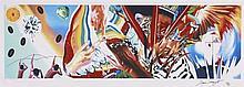 James ROSENQUIST (Né en 1933) BRAZIL, 2004-2013 Impression digitale en couleurs