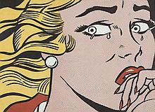 Roy LICHTENSTEIN (1923 - 1997) CRYING GIRL - 1963