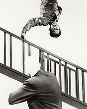 John BALDESSARI (né en 1931) STAIRWAY, COAT AND PERSON - 2011