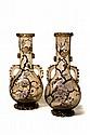 LEGRAS (Verrerie de Pantin)  Deux bouteilles