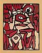 Gaston CHAISSAC (1910-1964) SANS TITRE, CIRCA 1943 Gouache et aquarelle sur papier