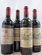 12 bouteilles 3 bts : DOMAINE DE CHEVALIER 2003 CC Pessac Léognan
