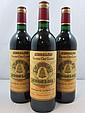 8 bouteilles CHÂTEAU ANGELUS 1992 GCC Saint Emilion