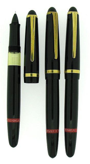 TITENKULI Lot de trois stylos plumes à pointe
