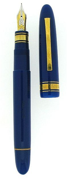 OMAS Stylo plume en série spéciale non commercialisée en hommage au navigateur français Laurent Bourgnon