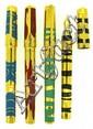 DUPONT Exceptionnel set de 4 stylos plumes en série limitée, sortie en 1995 à 200 exemplaires chacun, les 4 éléments (eau, feu, ai.....