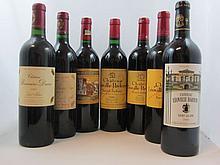 12 bouteilles 1 bt : CHÂTEAU LEOVILLE POYFERRE 1982 2è GC Saint Julien (étiquette tachée)