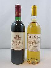 2 bouteilles 1 bt : CHÂTEAU DU PRIEUR 2002 (blanc doux) Loupiac