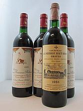 4 bouteilles 3 bts : CHATEAU MOUTON BARONNE 1986 5è GC Pauillac