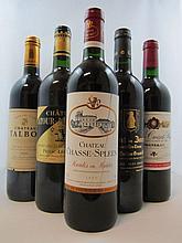 12 bouteilles 3 bts : CHÂTEAU TALBOT 1995 4è GC Saint Julien