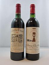 12 bouteilles 6 bts : CHATEAU CORBIN 1985 GCC Saint Emilion (étiquettes sales)