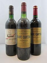 12 bouteilles 1 bt : CHÂTEAU BEYCHEVELLE 1993 4è GC Saint Julien (base goulot, étiquette sale)