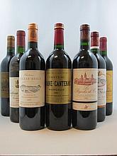 12 bouteilles 1 bt : CHÂTEAU GISCOURS 1986 3è GC Margaux (base goulot, étiquette fanée)