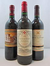 6 bouteilles 2 bts : CHÂTEAU GAZIN 1994 Pomerol (étiquettes fanées)
