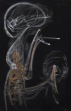Roberto MATTA (1911 - 2002) SANS TITRE Pastel sur papier